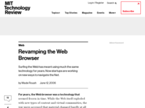 Technology Review: Emerging Technologies and their Impact