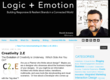 Logic+Emotion: Creativity 2.E