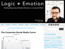 Logic+Emotion: The Corporate Social Media Curve