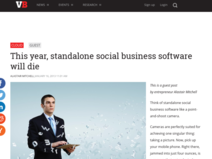 This year, standalone social business software will die | VentureBeat