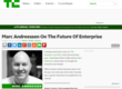 Marc Andreessen On The Future Of Enterprise | TechCrunch
