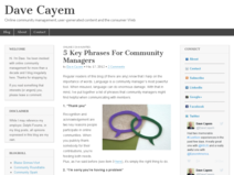 5 Key Phrases For Community Managers | Dave Cayem