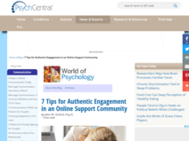 7 Tips for Authentic Engagement in an Online Support Community