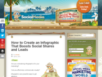 How to Create an Infographic That Boosts Social Shares and Leads | Social Media Examiner