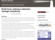 Build trust, embrace networks, manage complexity