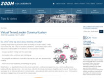 Communicating as a Virtual Team Leader