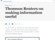 Thomson Reuters on making information useful | McKinsey & Company
